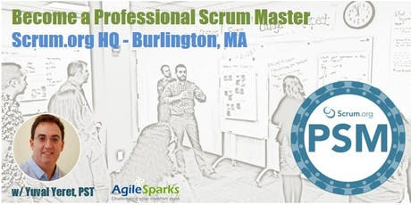 Professional Scrum Master (PSM) - Burlington, MA - August 2019 - Guaranteed to Run tickets