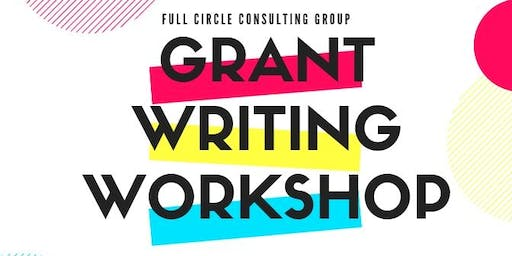 Introductory Grant Writing Training Workshop