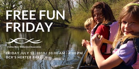 Free Fun Friday on the Charles River tickets