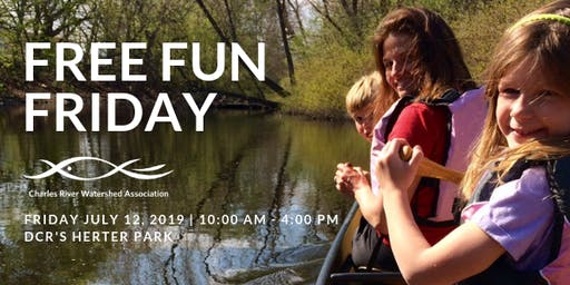 Free Fun Friday on the Charles River