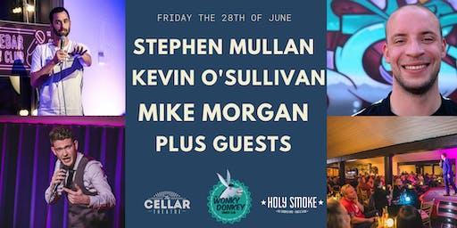 Stephen Mullan, Kevin O'Sullivan, Mike Morgan & Co.