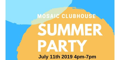 Mosaic Clubhouse Summer Garden Party