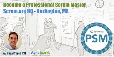 Professional Scrum Master (PSM) - Burlington, MA - October 2019