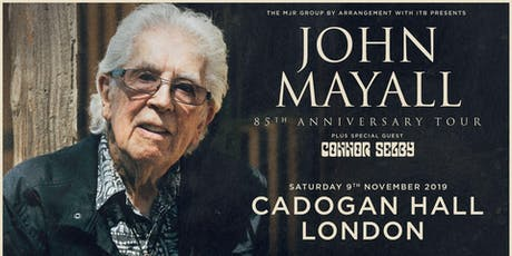 John Mayall - 85th Anniversary Tour (Cadogan Hall, London) tickets