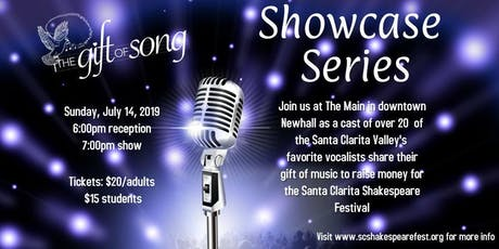 Gift of Song Showcase Series tickets