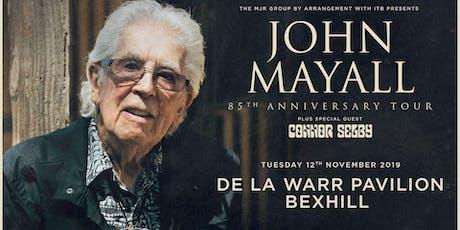 John Mayall - 85th Anniversary Tour (De La Warr Pavilion, Bexhill) tickets