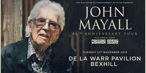 John Mayall - 85th Anniversary Tour (De La Warr Pavilion, Bexhill)