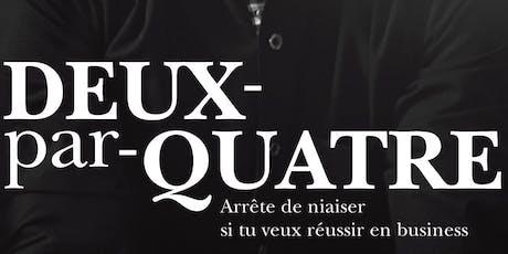 Déjeuner-échange : Livre Deux-par-Quatre (Québec) billets