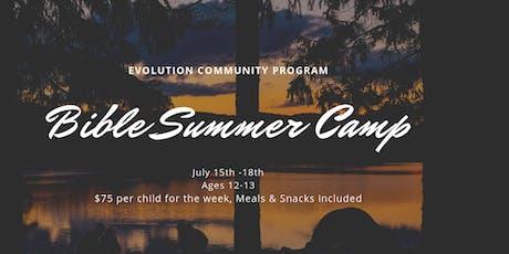 2019 Summer Camp tickets
