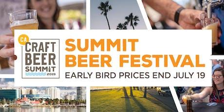 Summit Beer Festival,Long Beach- September 14, 2019 tickets