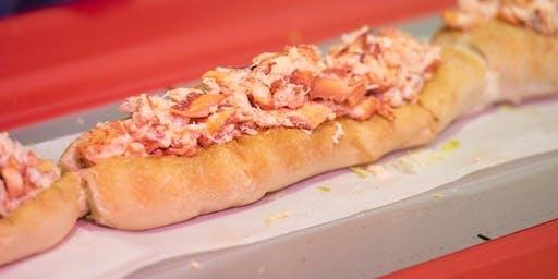 """Longest Lobster Roll / Le plus long """"lobster roll"""""""