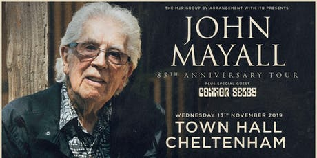 John Mayall - 85th Anniversary Tour (Town Hall, Cheltenham) tickets