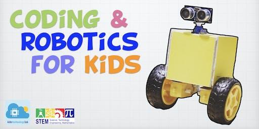 Coding & Robotics - Build a RoboCar - 4 days STEM Summer Workshop - Mong Kok