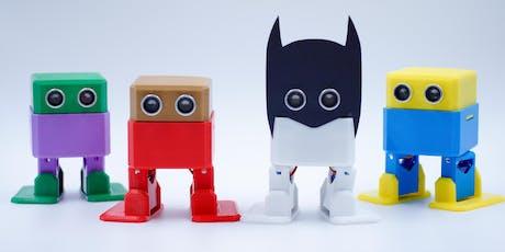 Coding & Robotics - Build your own robot - 4 days STEM Summer Program tickets