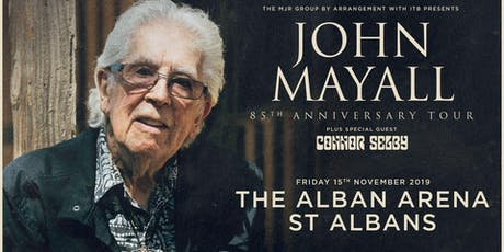 John Mayall - 85th Anniversary Tour (Arena, St Albans) tickets