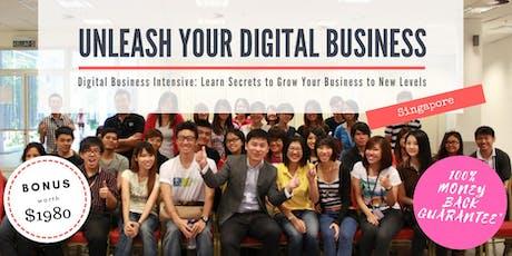 Unleash Your Digital Business (SG) - Digital Business Intensive tickets