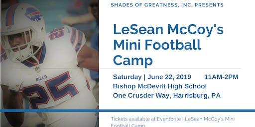 LeSean McCoy's Mini Football Camp | 06.22.2019