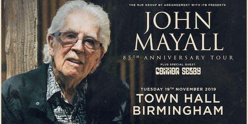 John Mayall - 85th Anniversary Tour (Town Hall, Birmingham)