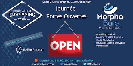 Portes ouvertes - Venez visiter l'espace de coworking Morphoburo billets