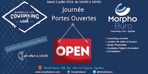 Portes ouvertes - Venez visiter l'espace de coworking Morphoburo