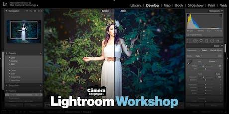 Lightroom Workshop tickets