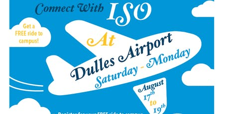 ISO Airport Pickup Registration - Fall 2019 tickets