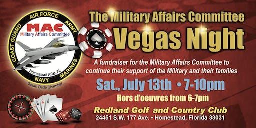 Military Affairs Committee Vegas Night