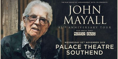 John Mayall - 85th Anniversary Tour (Palace Theatre, Southend)