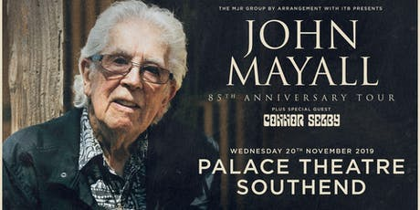 John Mayall - 85th Anniversary Tour (Palace Theatre, Southend) tickets