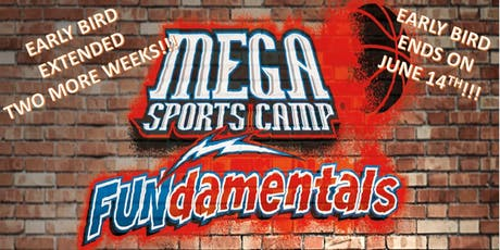 "MEGA Kids Camp 2019 ""FUNdamentals"" tickets"