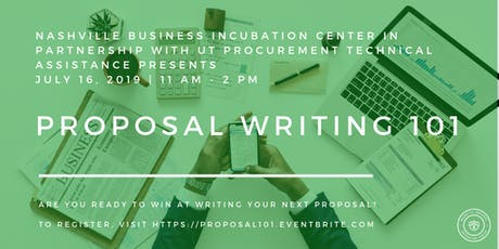 Proposal Writing 101 tickets