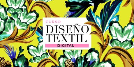DISEÑO TEXTIL DIGITAL I - Lunes 8/15/22/29 de JULIO de 19 a 21hs entradas