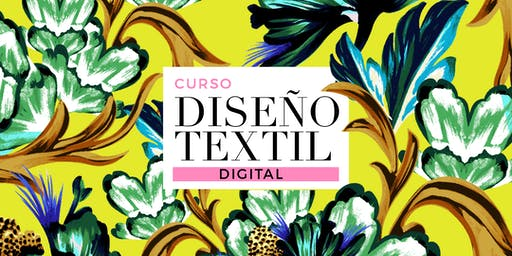 DISEÑO TEXTIL DIGITAL I - Lunes 8/15/22/29 de JULIO de 19 a 21hs