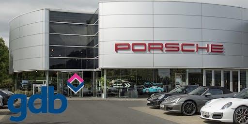 gdb Afternoon Tea Break at Porsche Centre Mid Sussex