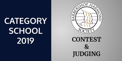BHS Contest & Judging: Category School 2019