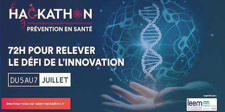 Hackathon Prévention en Santé  billets