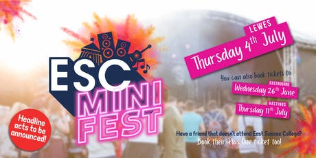 ESC Mini Fest - Lewes tickets