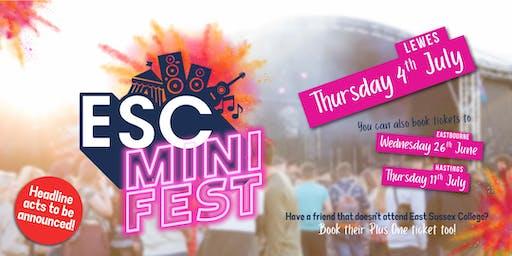 ESC Mini Fest - Lewes