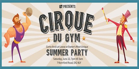 Cirque du Gym tickets