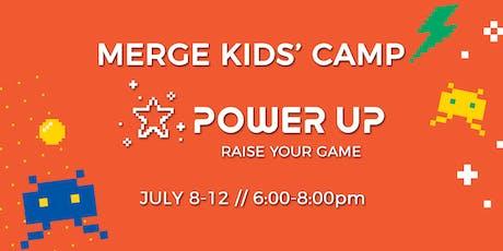 Merge Kids' Camp 2019 tickets