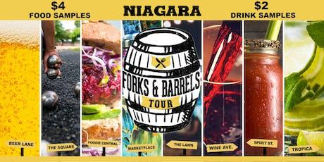 Forks and Barrels -  Niagara tickets