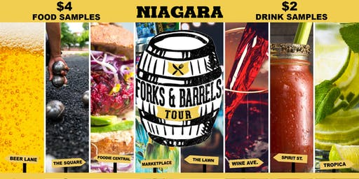 Forks and Barrels -  Niagara