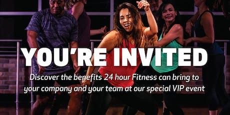 24 Hour Fitness East Side San Jose VIP Sneak Peek tickets