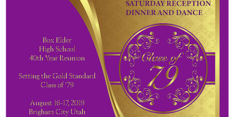 BEHS Class of 1979 40th Reunion Saturday Night Reception, Dinner, and Dance tickets