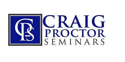 Craig Proctor Seminar - Anaheim