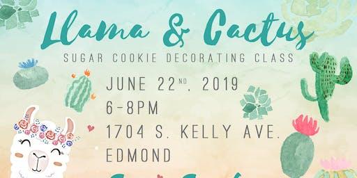 llamas & Cactus! Cookie Decorating Class