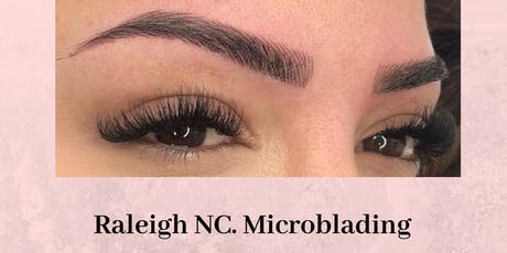 Effortless 10 Microblading Training Raleigh NC tickets
