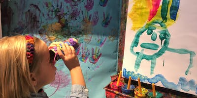 Free Trial: Handprints Art Class for Toddlers & Preschoolers