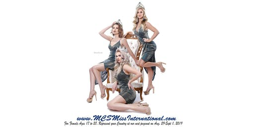 MCS Miss International Pageant