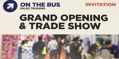 On The Bus Sales Training's Trade Show